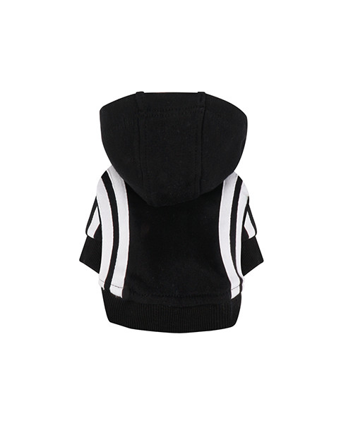 Dresowa Bluza dla Psa Puppy Angel BasicTape Hood T-shirt czarna