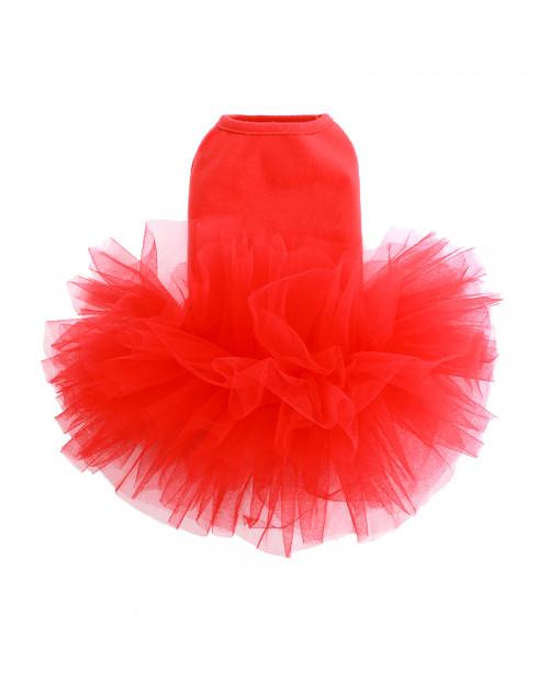 Sukienka dla Pieska Puppy Angel TUTU Dress Red