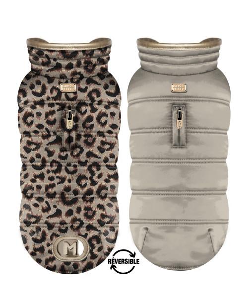 Dwustronna kurtka dla Psa Milk&Pepper Kalahari Reversible Puffer Jacket