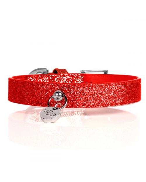 Obroża dla Psa Milk&Pepper Stardust Red Collier