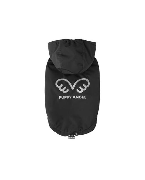 Zimowa kurtka dla wybradnych Piesków Puppy Angel Wing Padded Hooded Vest black