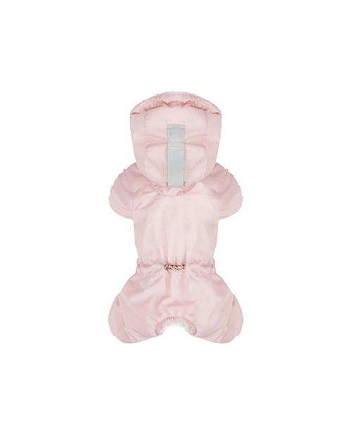 Kombinezon zimowy z logo na łapce Puppy Angel MAGAGIO różowy