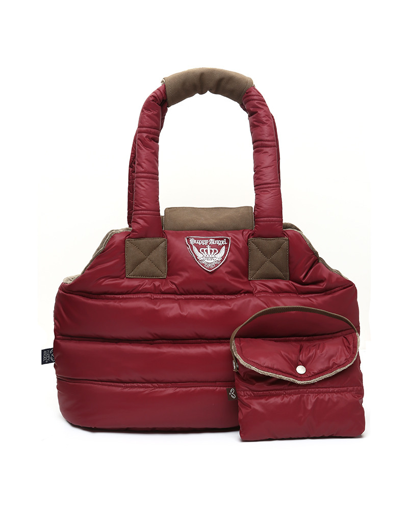 Torba dla Psa ocieplana Puppy Angel bordo