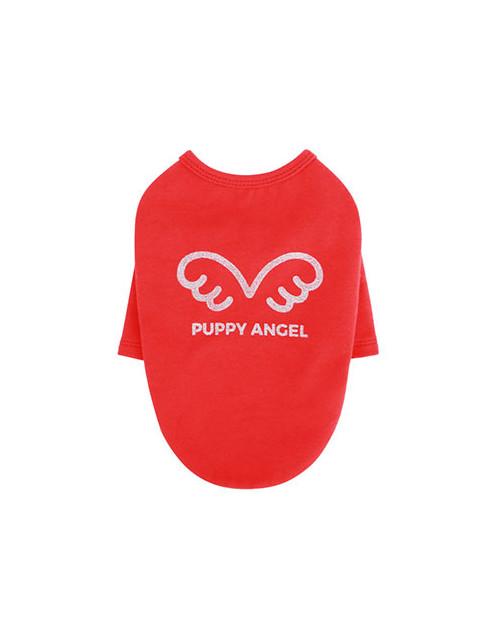 Bluzka T-shirt dla Psa czerwony