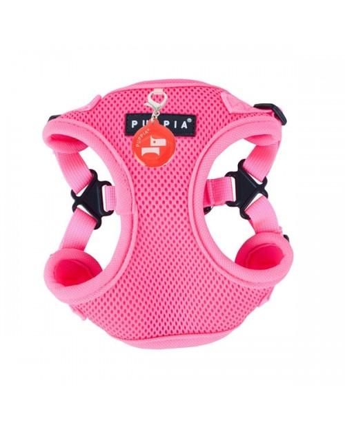 Szelki dla Psa Puppia Typ C Neon Soft Harness Pink