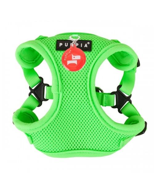 Szelki dla Psa Puppia Typ C Neon Soft Harness Green