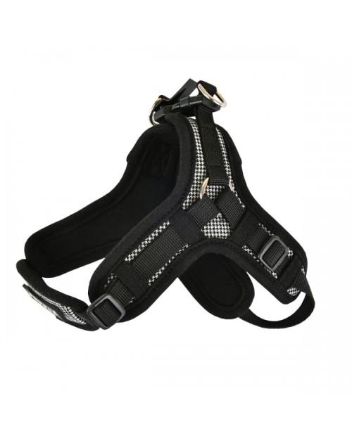 Szelki dla Psa Puppia Puppytooth X BLACK
