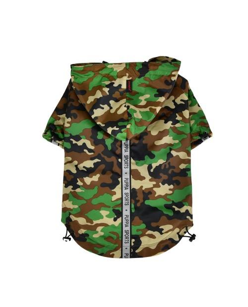 Kurtka przeciwdeszczowa Puppia Base Jumper Raincoat New Camo