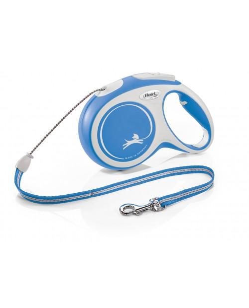 Smycz Flexi New Comfort niebieska