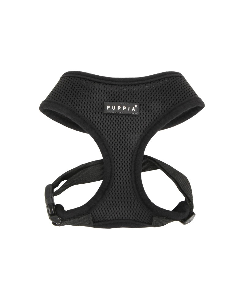 Szelki dla Psa Puppia Soft Harness Black
