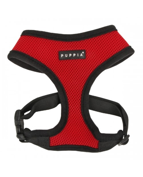 Szelki dla Psa Puppia Soft Harness Red