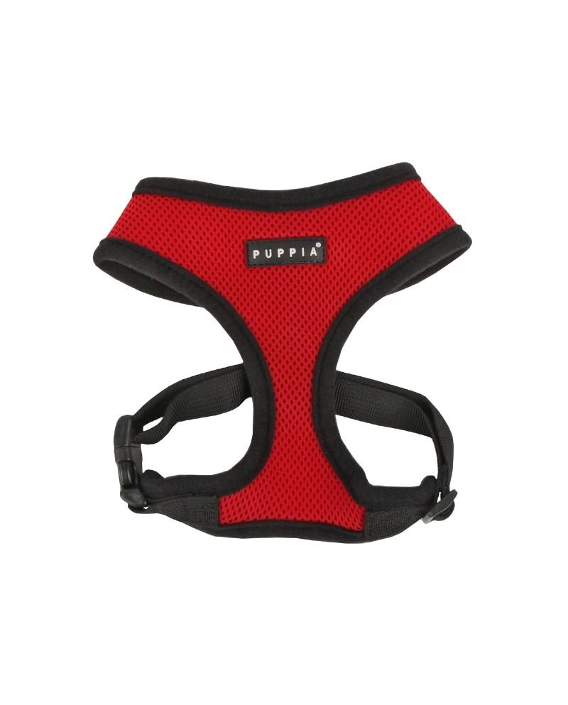 Szelki dla Psa Puppia Soft Harness Red