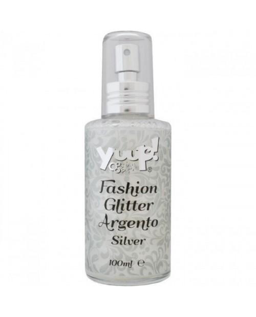 Perfumowany spray Fashion Glitter Silver ze srebrnym brokatem 100 ml