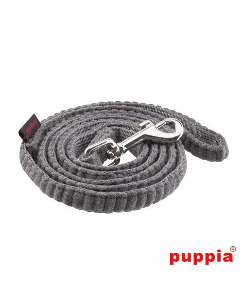 Smycz dla Psa Puppia Troy Harness Lead Grey