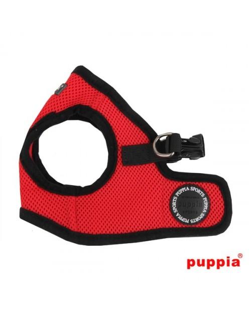 Szelki dla Psa Puppia Soft Vest Czerwone