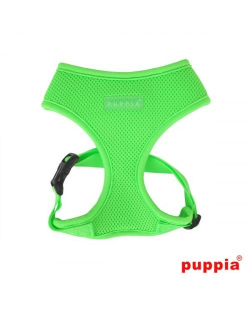 Szelki dla Psa Puppia Neon Soft Harness A Green
