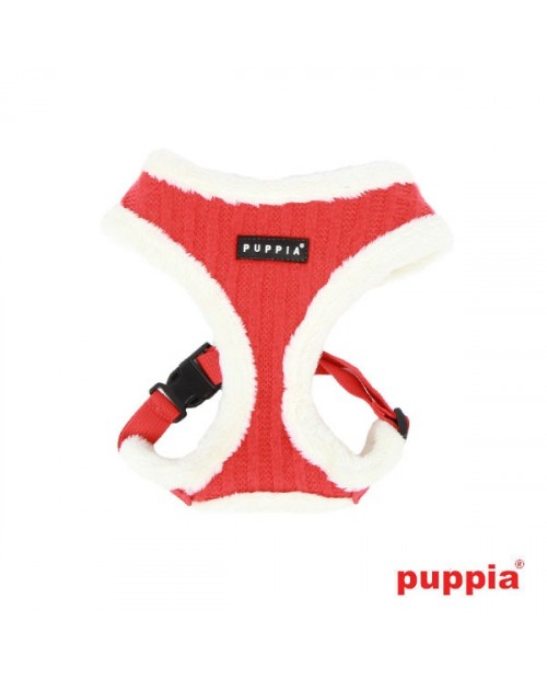 Szelki dla Psa Puppia Modish Harness A Red
