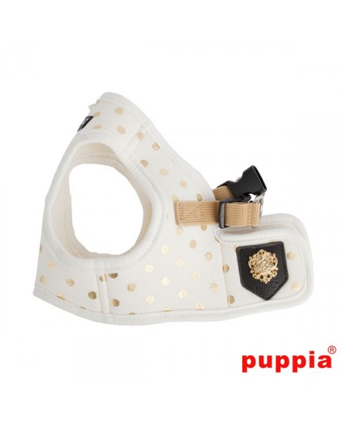 Szelki dla Psa Puppia Dotty Harness B White