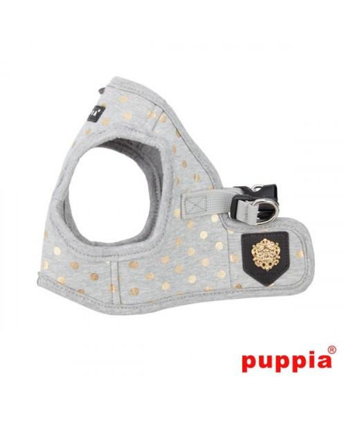 Szelki dla Psa Puppia Typ B Modern Dotty Harness  Grey