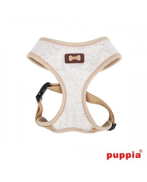 Szelki dla Psa Puppia Typ A Gala Harness Beżowo-Złote